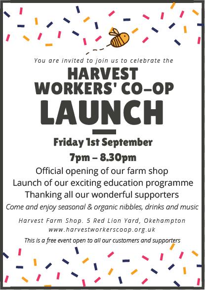 Harvest Launch