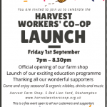 Harvest Launch