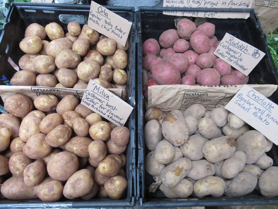 Potatoes Spuds Tatties