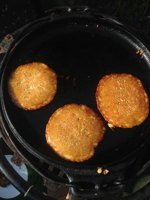 Pea Flour Pancakes